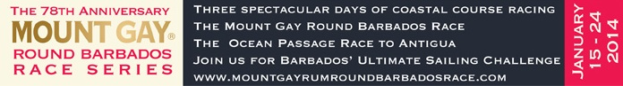 Mount Gay Rum Round Barbados Race Series 2014